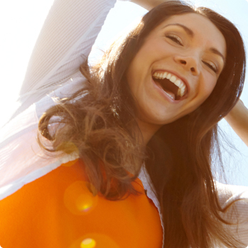 Sapphire Dental teeth smiling girl