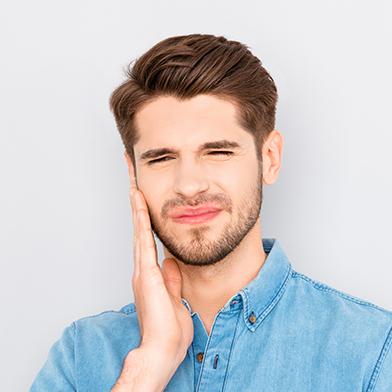teeth extortion pain